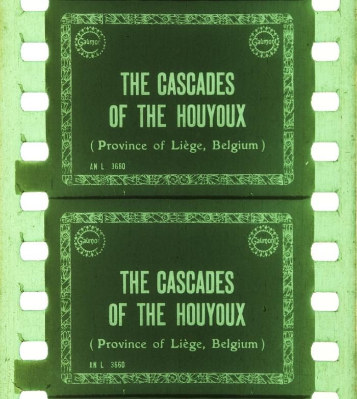 Cascades of the Houyoux (1911)