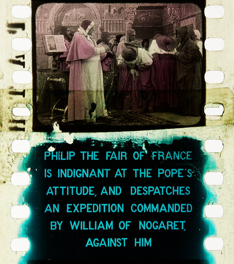Bonifacio Viii 1911 Timeline Of Historical Film Colors