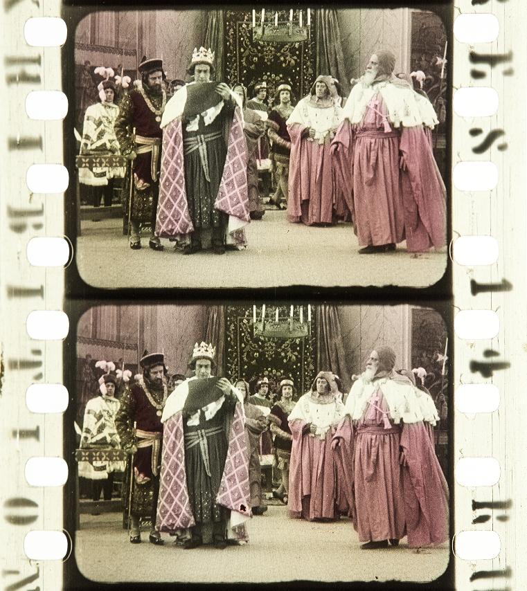 bcabe6128a14 Bonifacio VIII (1911)   Timeline of Historical Film Colors