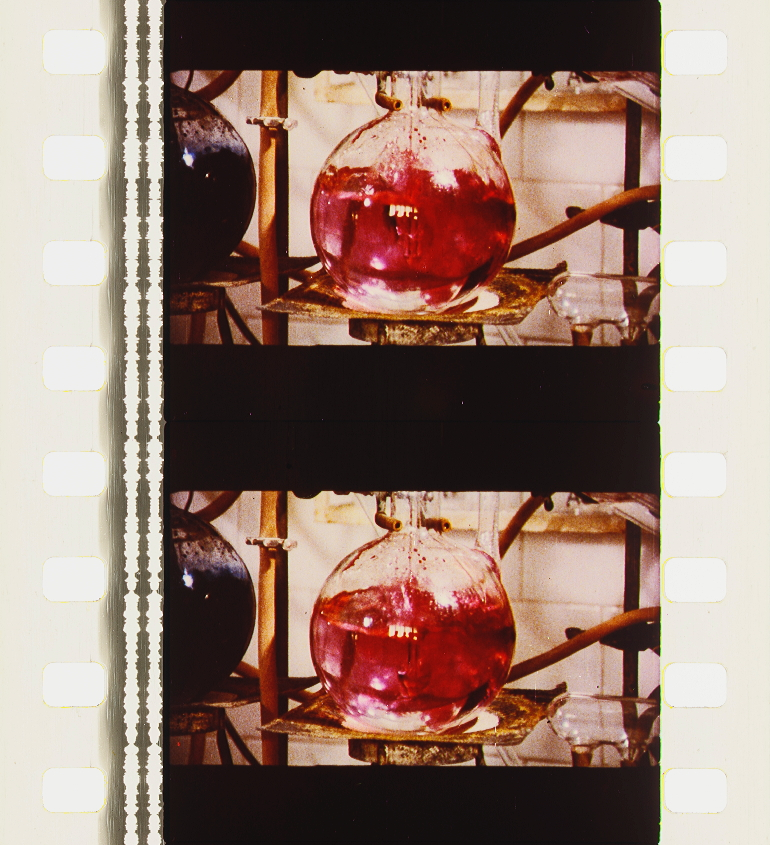 Boucanier 15 cm glasornament bleu violet