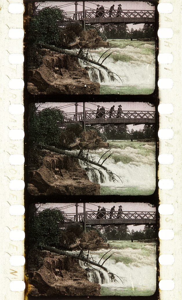 Stencil Colored Samples Kodak Film Samples Collection