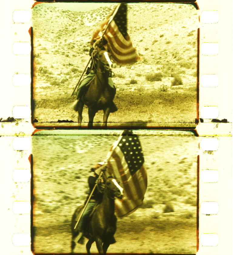 cd113cdc Buffalo Bill's Last Fight (1927) | Timeline of Historical Film Colors