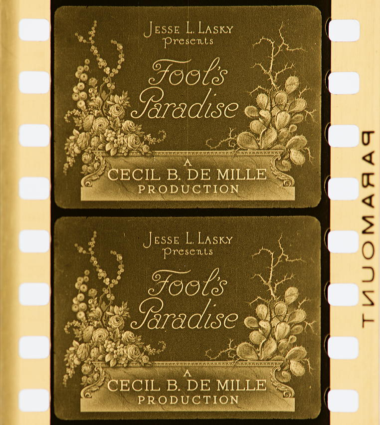 1442cc558dd Fool s Paradise (1921)