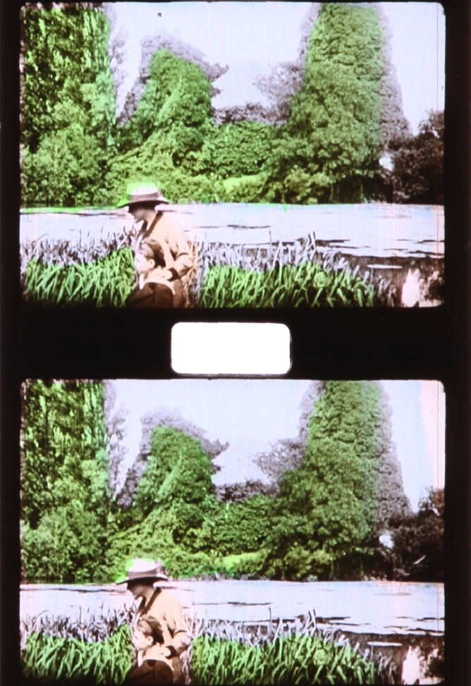 1c0deaa8aaf62c Stencil Colored Pathé Baby 9.5mm Film   Timeline of Historical Film ...