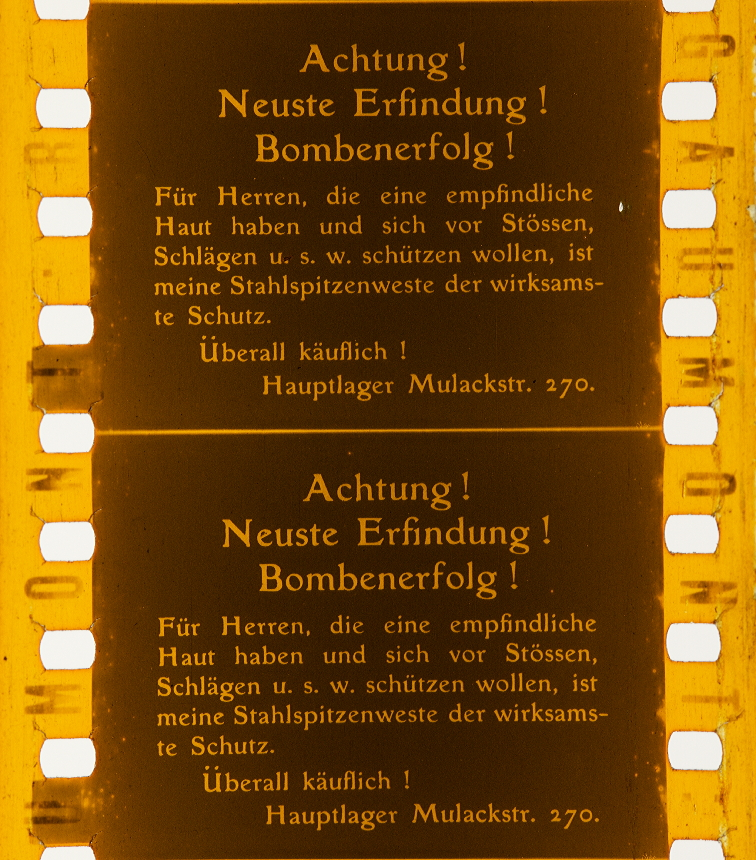 Gaumont Fragments] | Timeline of Historical Film Colors