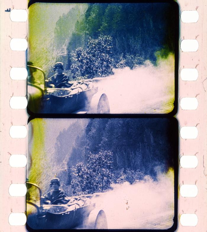 Der Alpenweg Sallanches Gombloux Megeve 1920