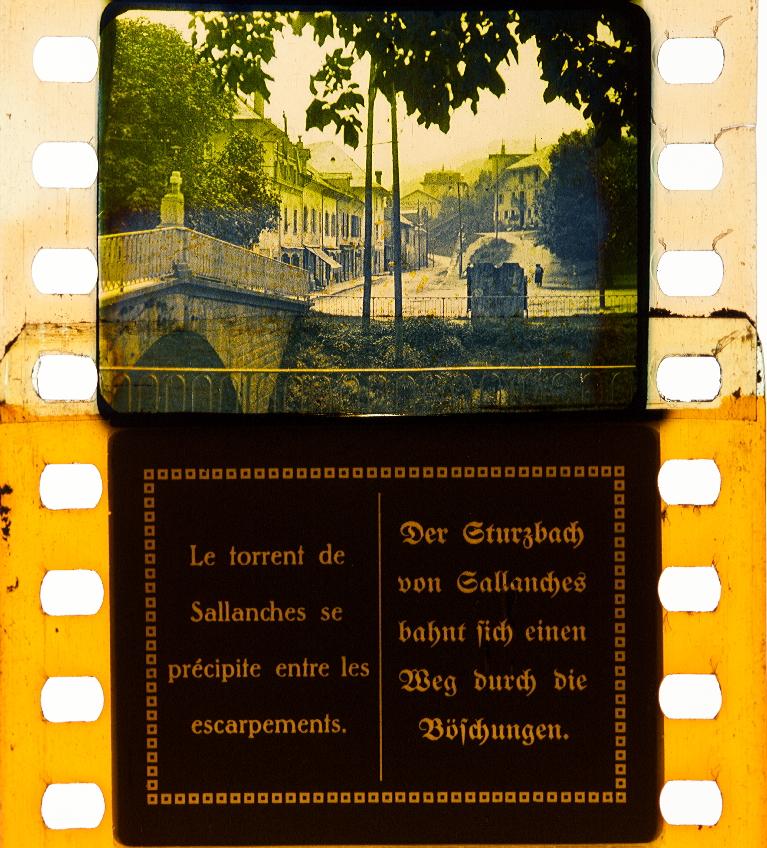 Der Alpenweg. Sallanches, Gombloux, Megeve ([1920 ...
