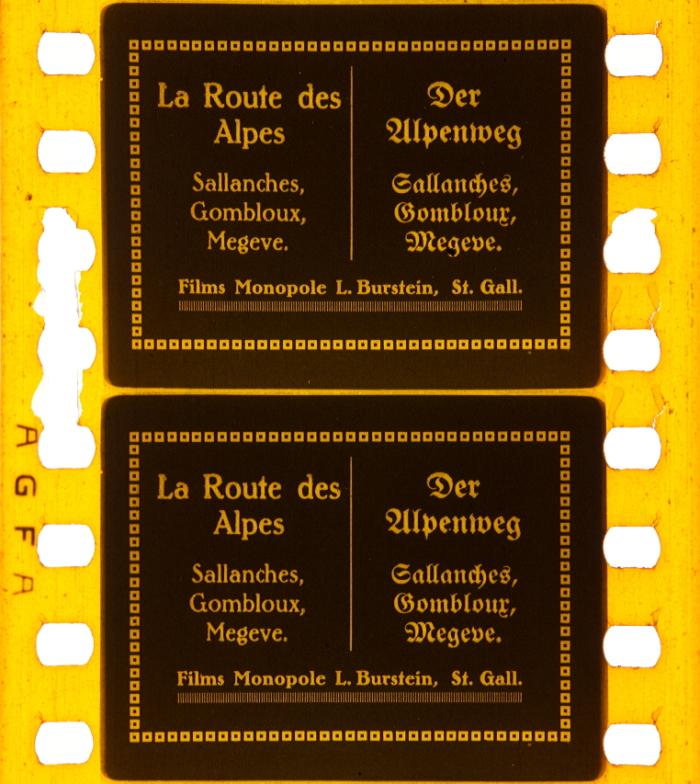Der Alpenweg. Sallanches, Gombloux, Megeve ([1920]]