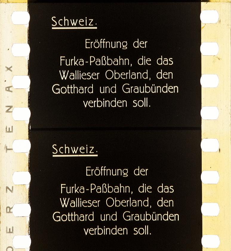 Emelka Woche 1926 Timeline Of Historical Film Colors