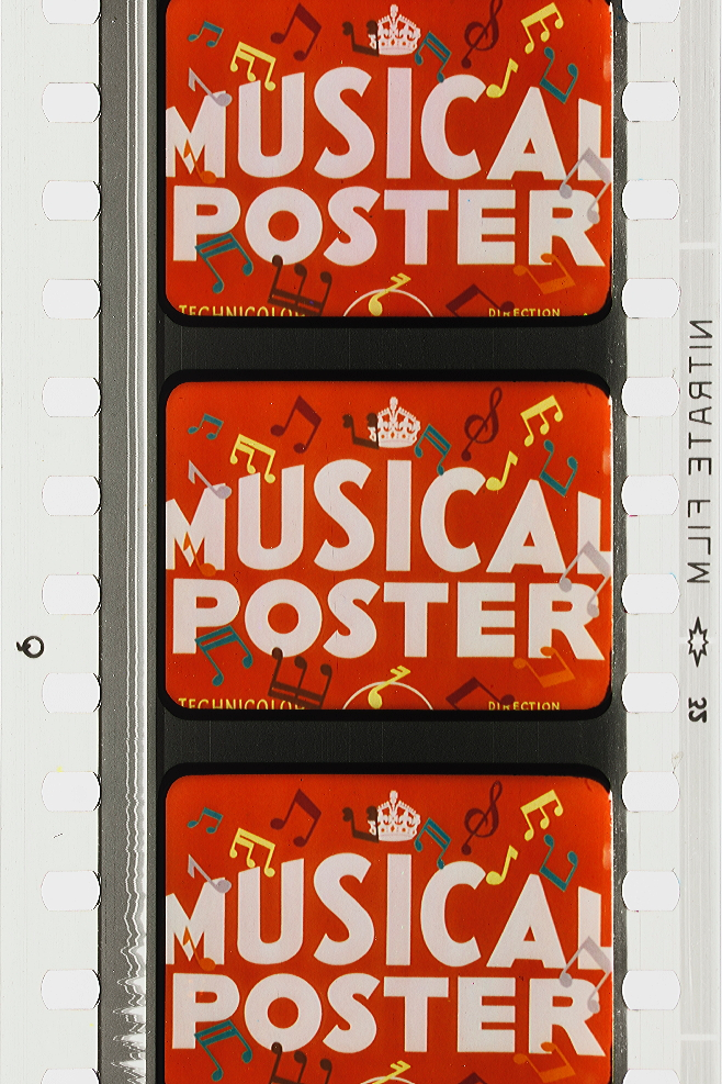 Musical Poster Number One (1940) | Timeline of Historical Film Colors