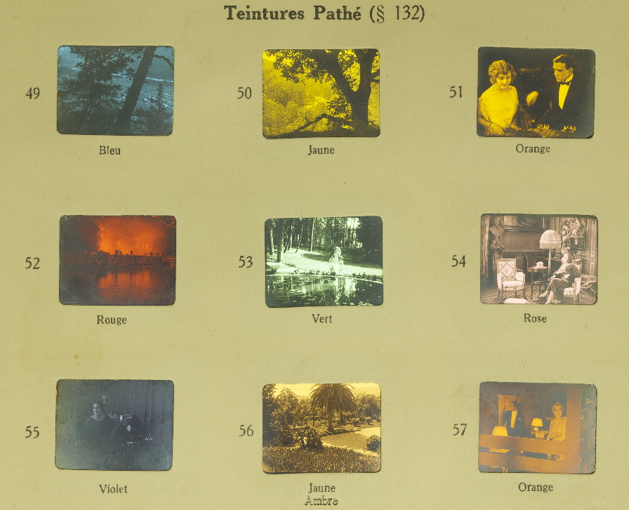 Le Film Vierge Pathé Tinting Timeline Of Historical Film