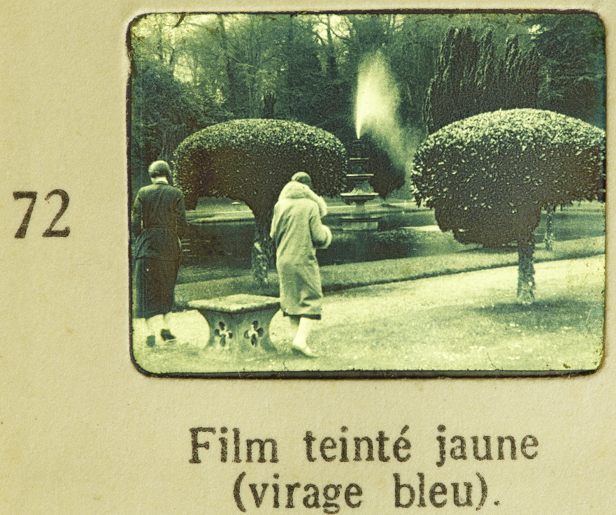Pathé Manual 1925 Toning On Tinted Support Timeline Of