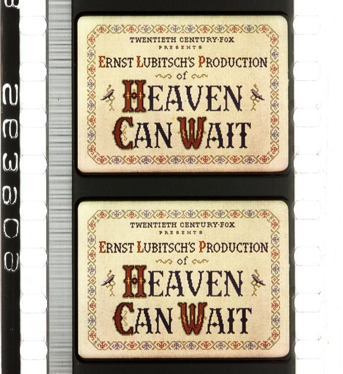 8b8cb8cc3f0ef Heaven Can Wait (1943)