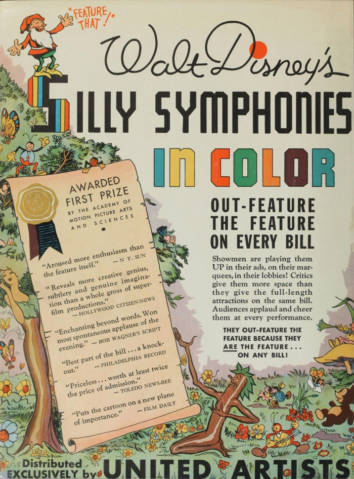 Animation and Color | Timeline of Historical Film Colors