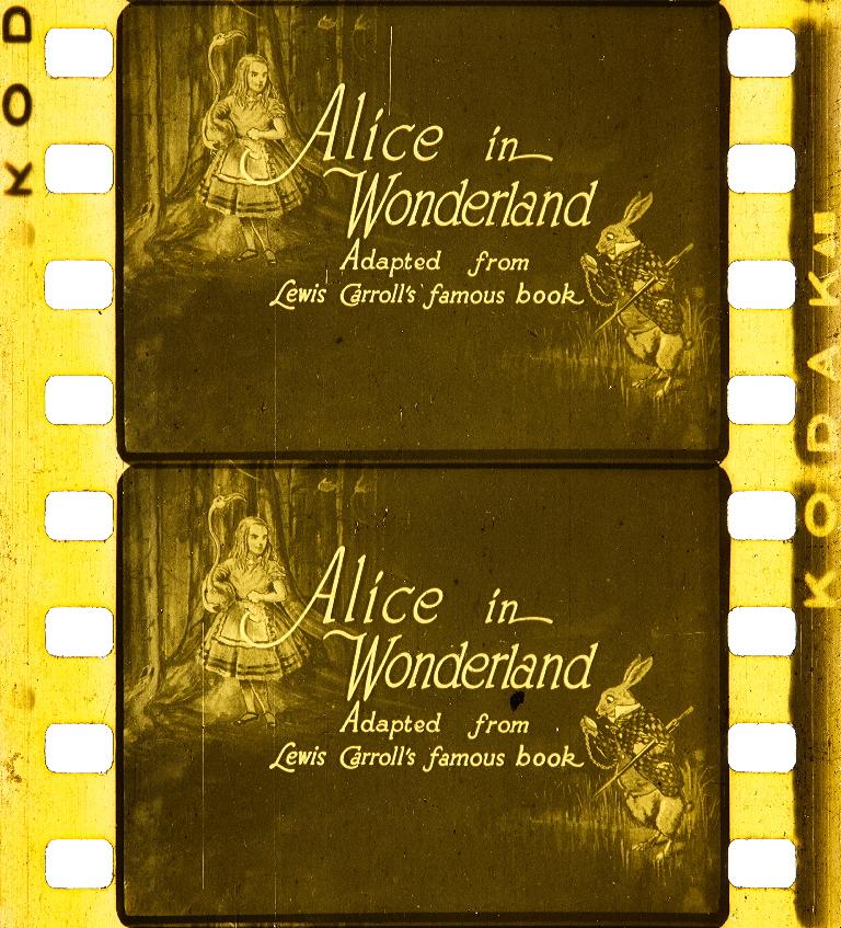 Alice In Wonderland 1915 Timeline Of Historical Film Colors