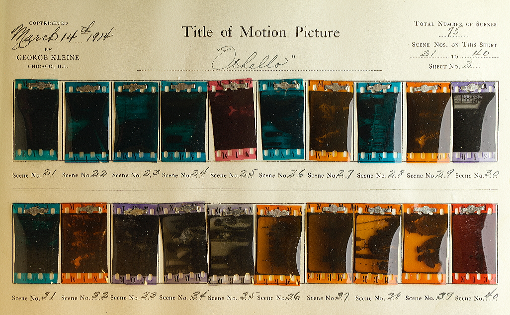 Otello (1914) | Timeline of Historical Film Colors