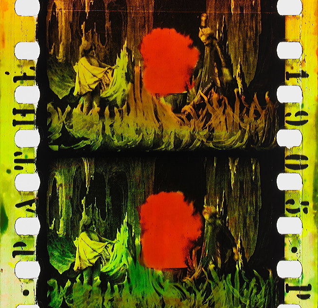 Lantre Infernal 1905 Timeline Of Historical Film Colors