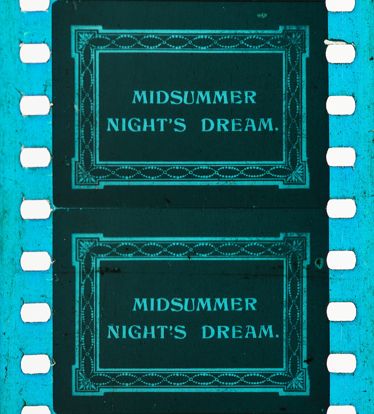 A Midsummer Night's Dream (1909)   Timeline of Historical