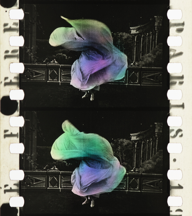 Loie Fuller 1905 Timeline Of Historical Film Colors