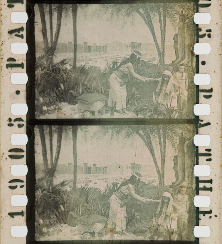La Vie De Moise 1905 Timeline Of Historical Film Colors