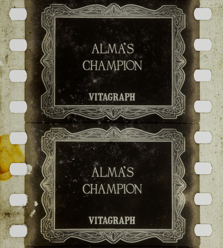 Almas Champion (1912) | Timeline of Historical Film Colors