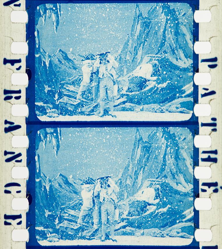 excursion dans la lune (1908) timeline of historical film colors