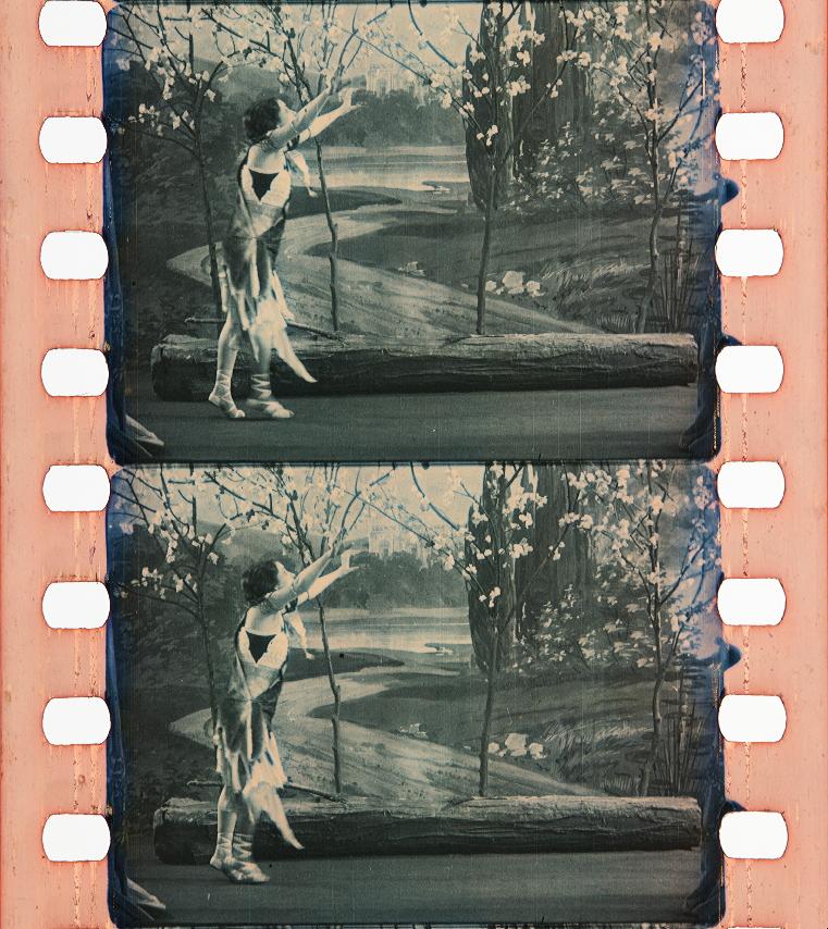 Eine Motte flog zum Licht (1915) | Timeline of Historical Film Colors