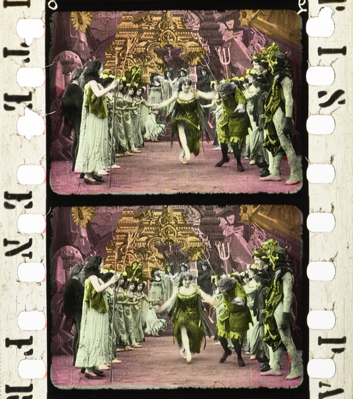 Faust Und Gretchen 1910 Timeline Of Historical Film Colors